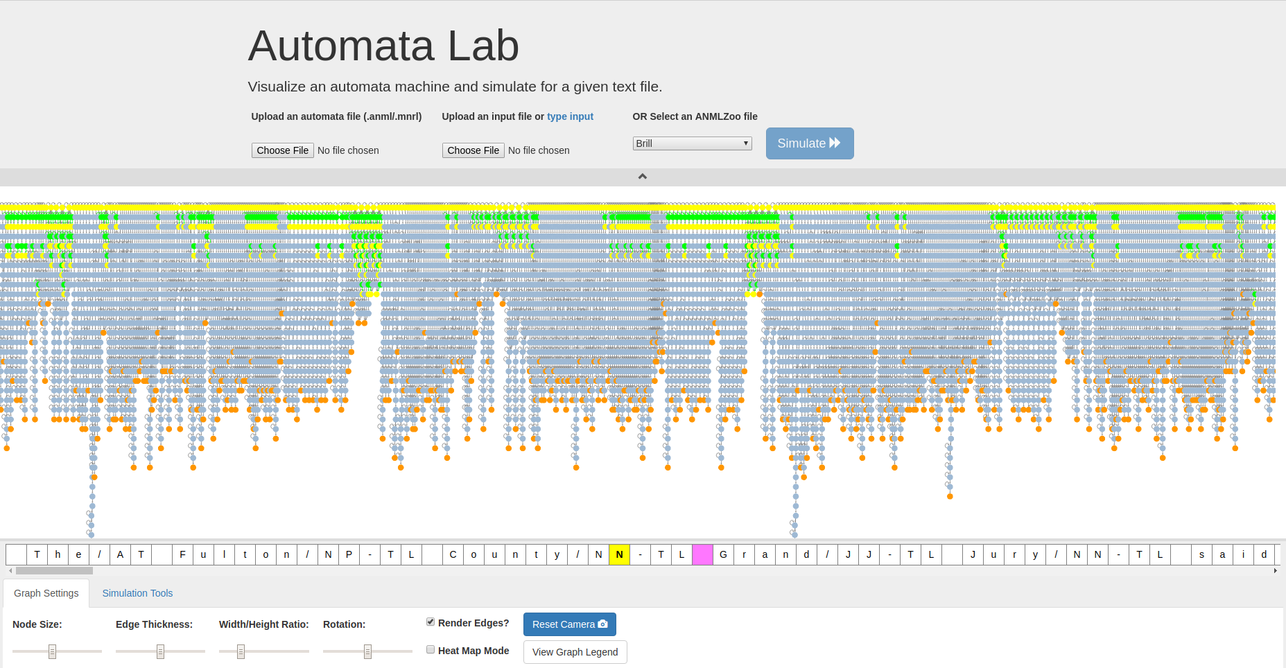 AutomataLab Fullscreen Demo
