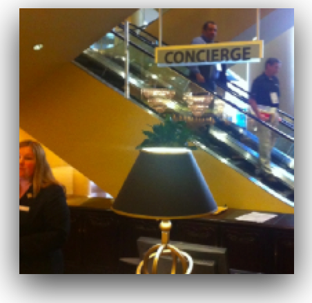 Photo of Concierge Sign by Kin Lane