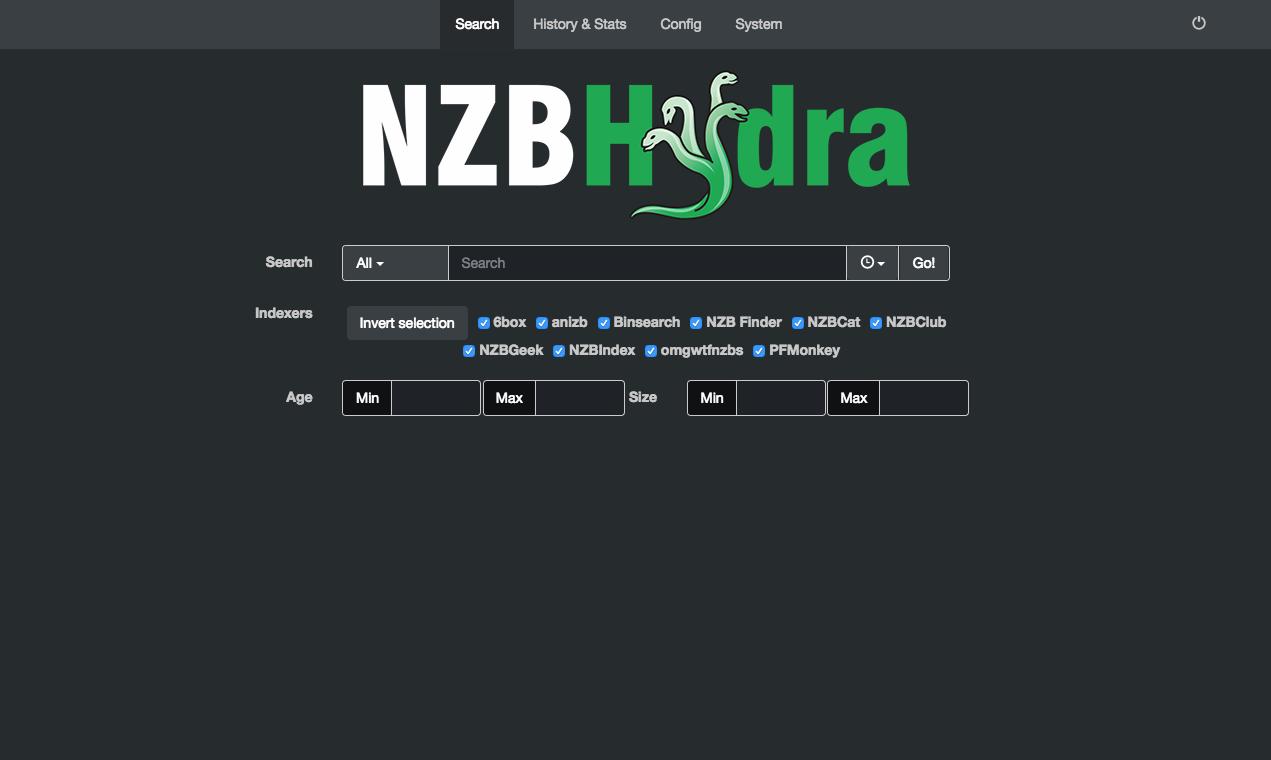 Extras: NZBHydra · Cloudbox/Cloudbox Wiki · GitHub