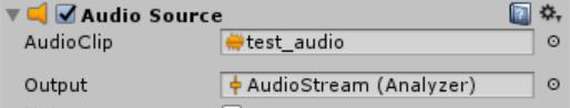 audiosource mixer property