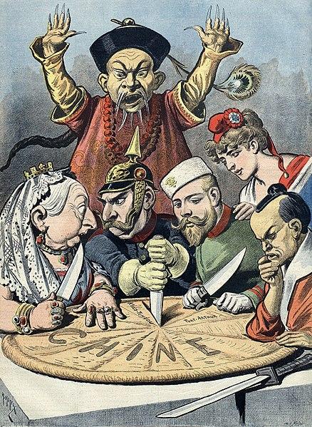 438px China imperialism cartoon