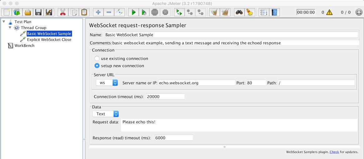 jmeter-websocket-samplers/README md at master · ptrd/jmeter
