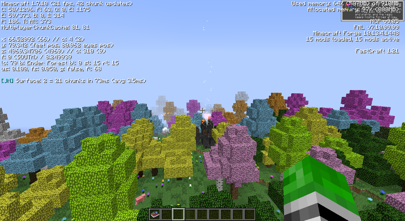 Chromaticraft biomes don't generate with BOP installed