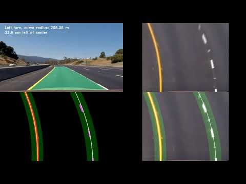 Advanced Lane Tracking Video