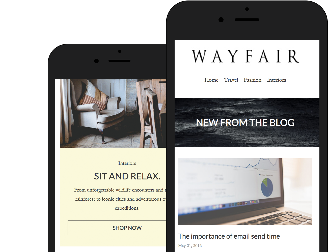 Wayfair template