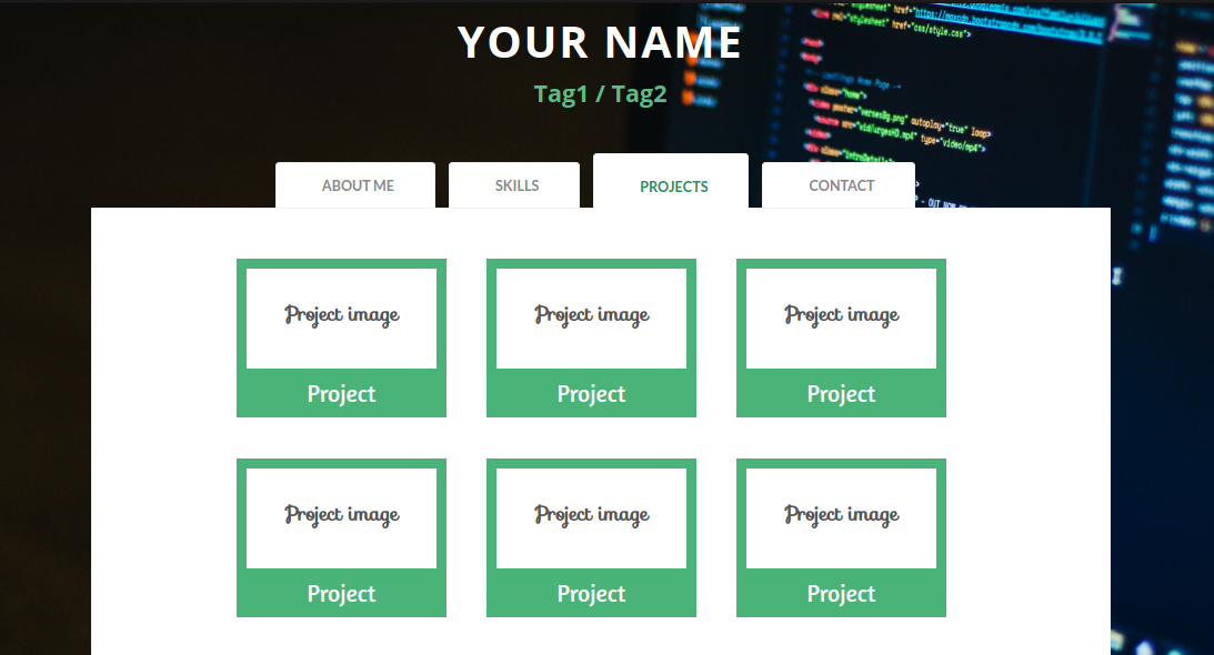 Project Tab