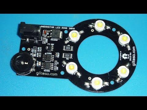 ANDONSTAR ADSM201 LED RING 6W 12V 30MM