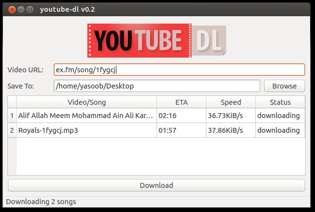 Graphical user interface · Issue #469 · ytdl-org/youtube-dl · GitHub