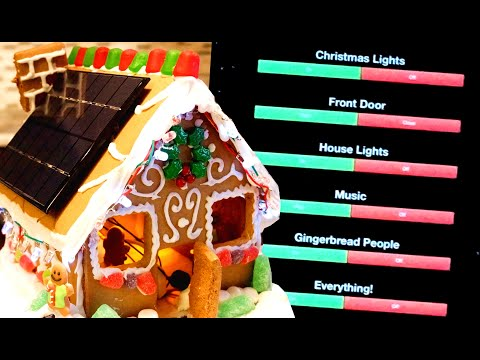 Youtube Video for Gingerbread House