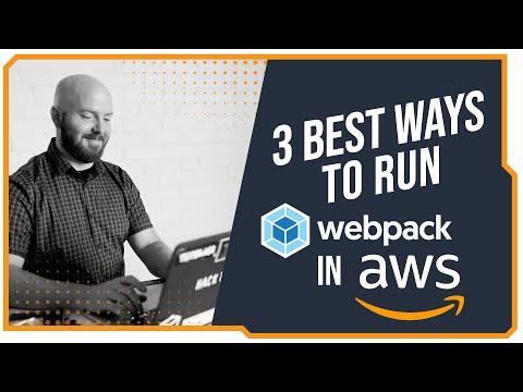 Running webpack on AWS Video