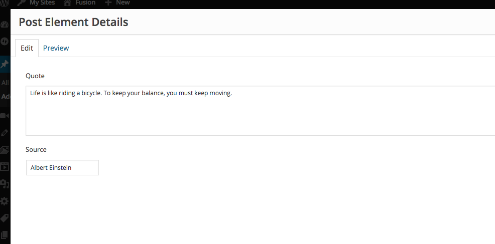 And add a user-friendly UI to edit shortcode content and attributes.