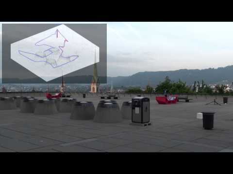 Inspection of the ETH Polyterrasse