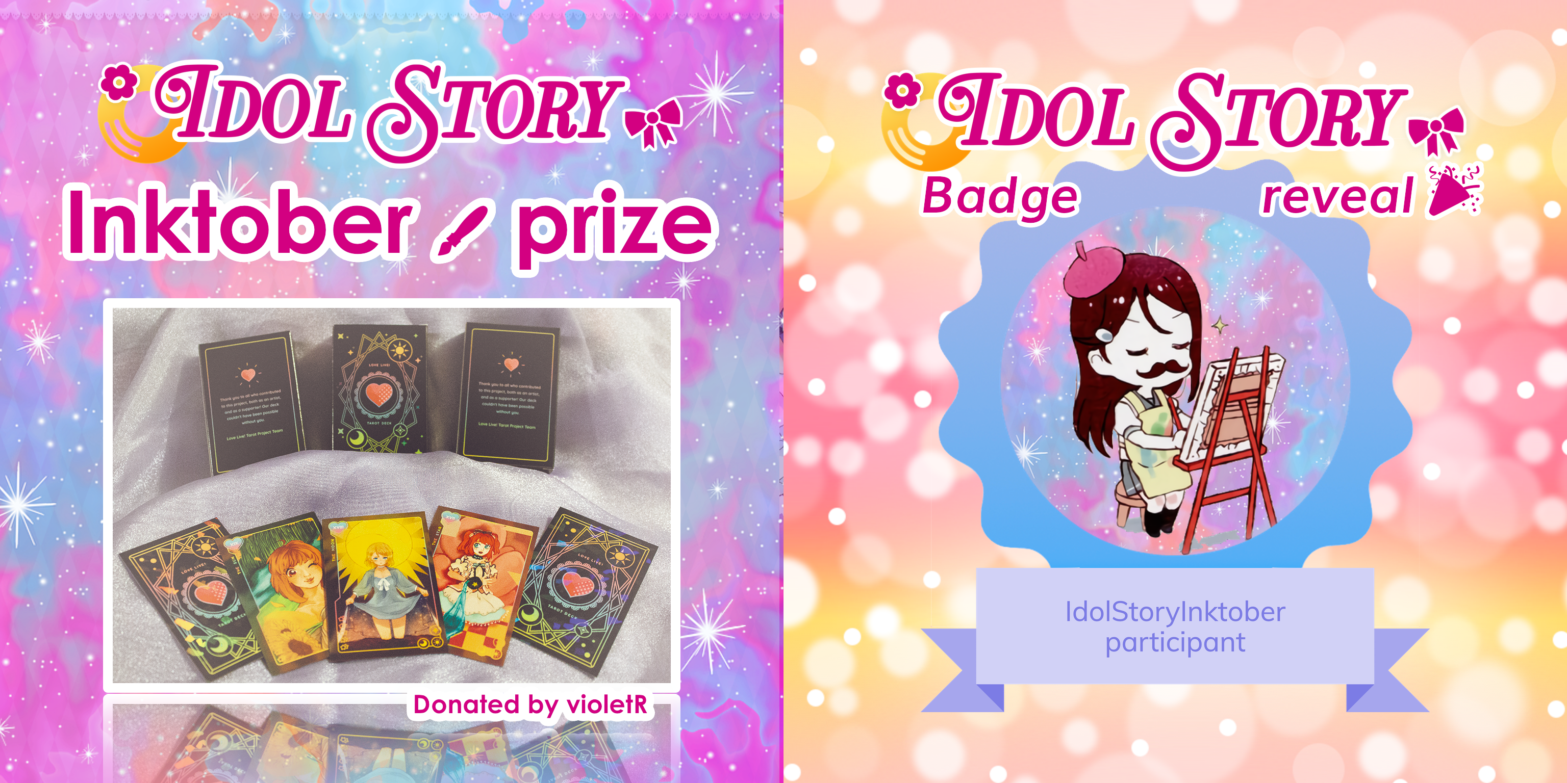 Prize & badge reveal
