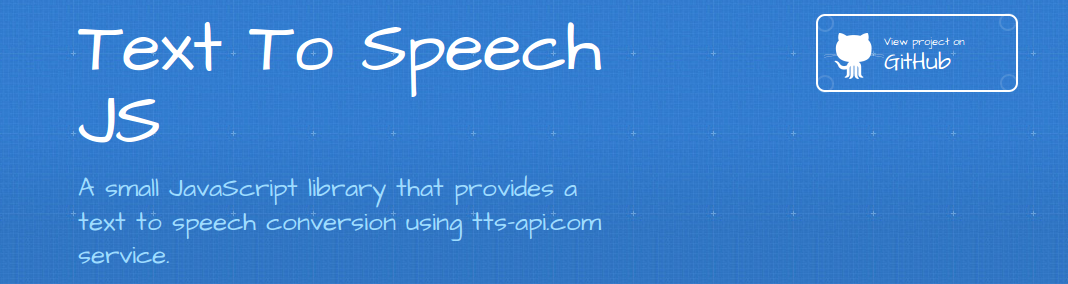 GitHub - IonicaBizau/text-to-speech-js: A small JavaScript library