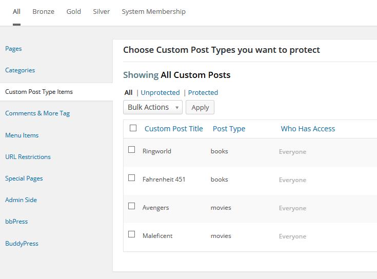 M2 Custom Post Type Items Protection