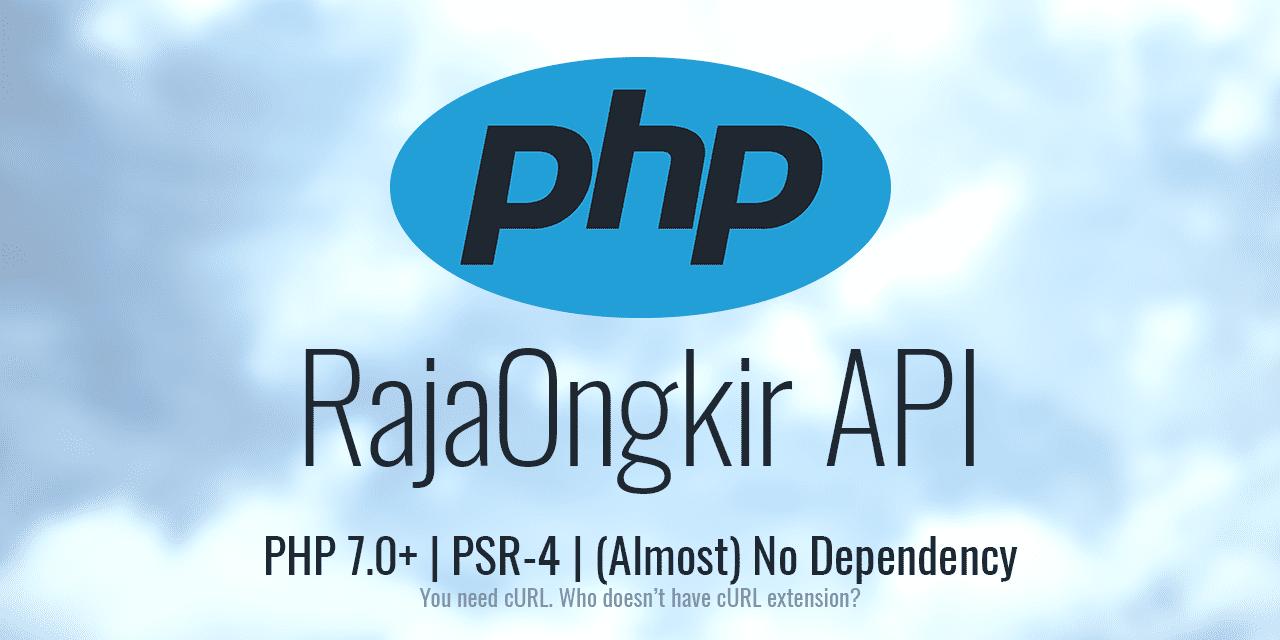 Klien API RajaOngkir untuk PHP