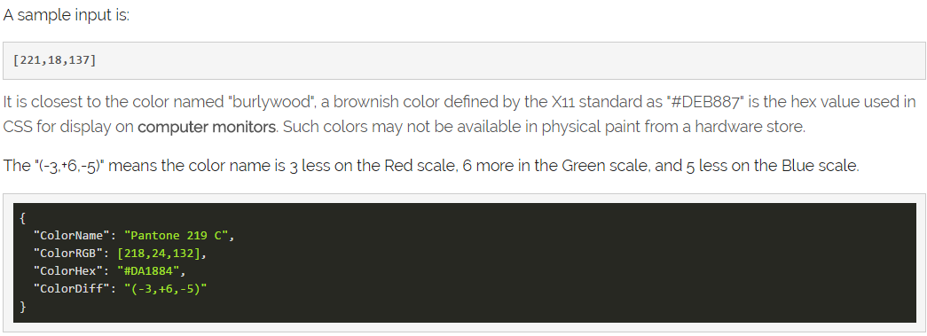 Credits The Bulk Of Work On This Is To Reconcile Duplicate Colors And Color Names From A Variety Sources