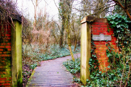 Entrance to the old walled garden.. by ronsaunders47, on Flickr