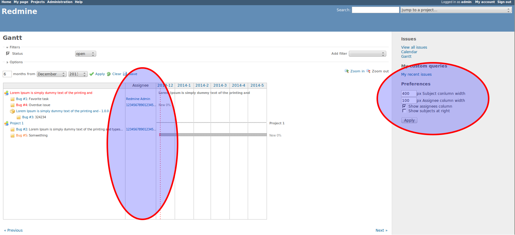 Progressive Gantt Mods Screenshot