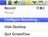Configure Recording