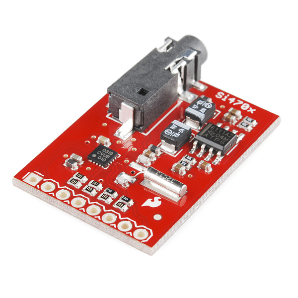 Si4703 FM Tuner Evaluation Board