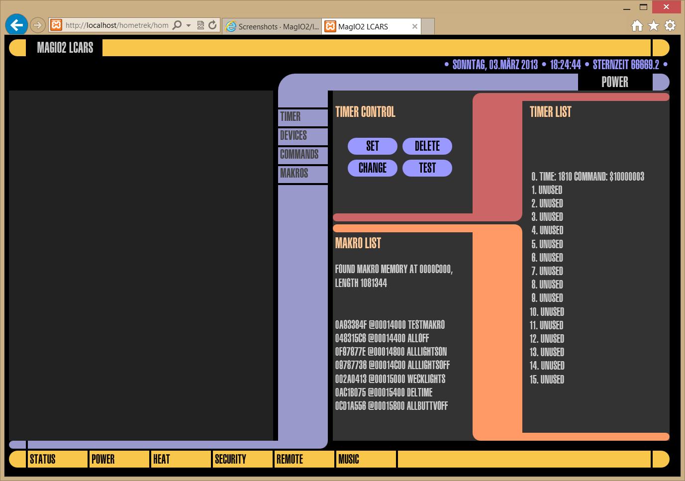 Screenshots · MagIO2/Web2Home---lcars Wiki · GitHub