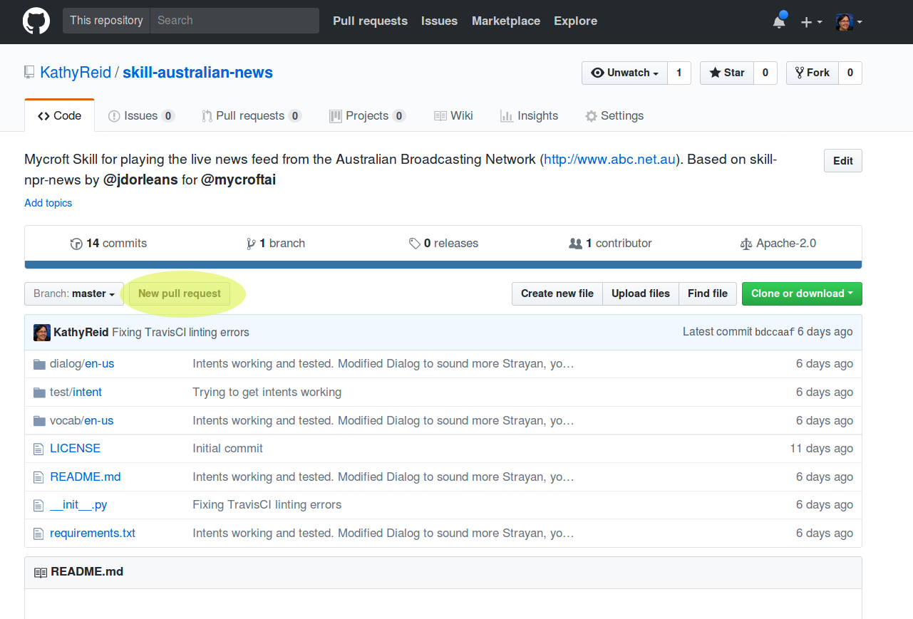 Raising a Pull Request in GitHub