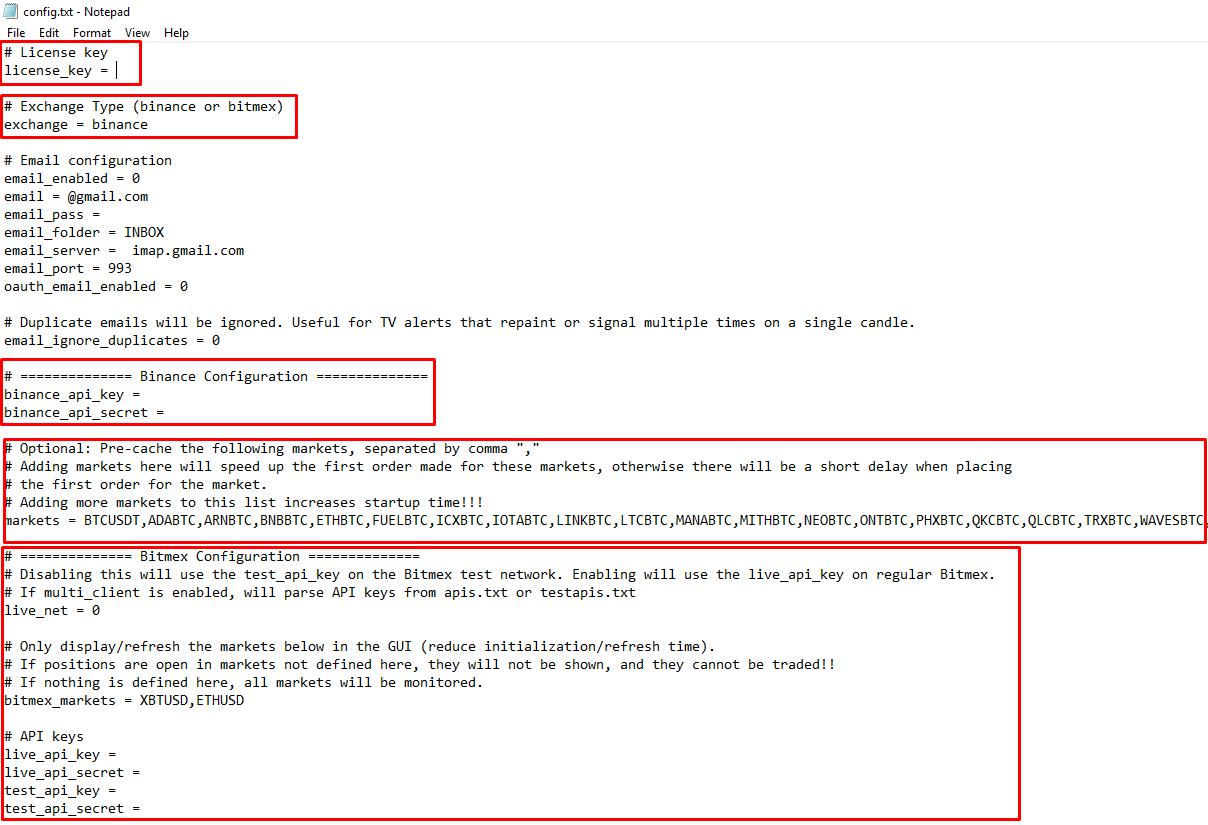 Config txt · Profit-sync/Profit-sync Wiki · GitHub