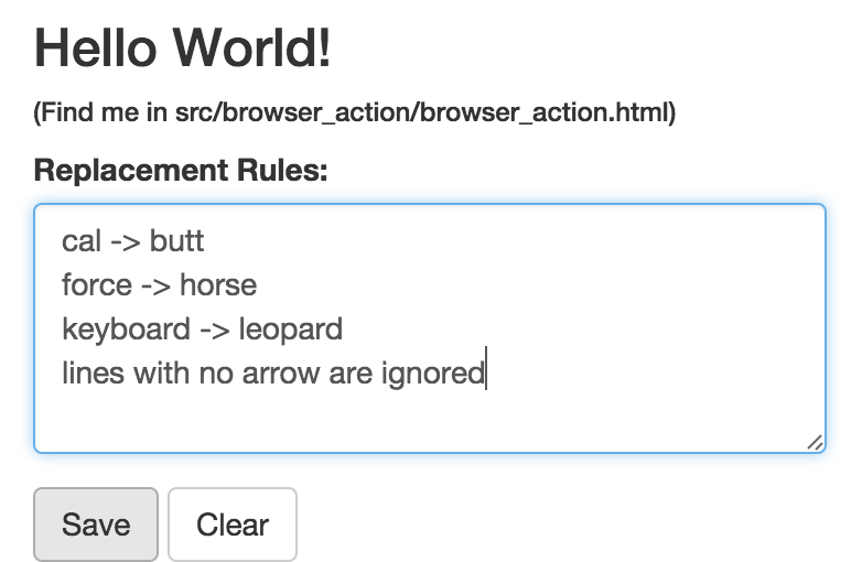 Browser Action
