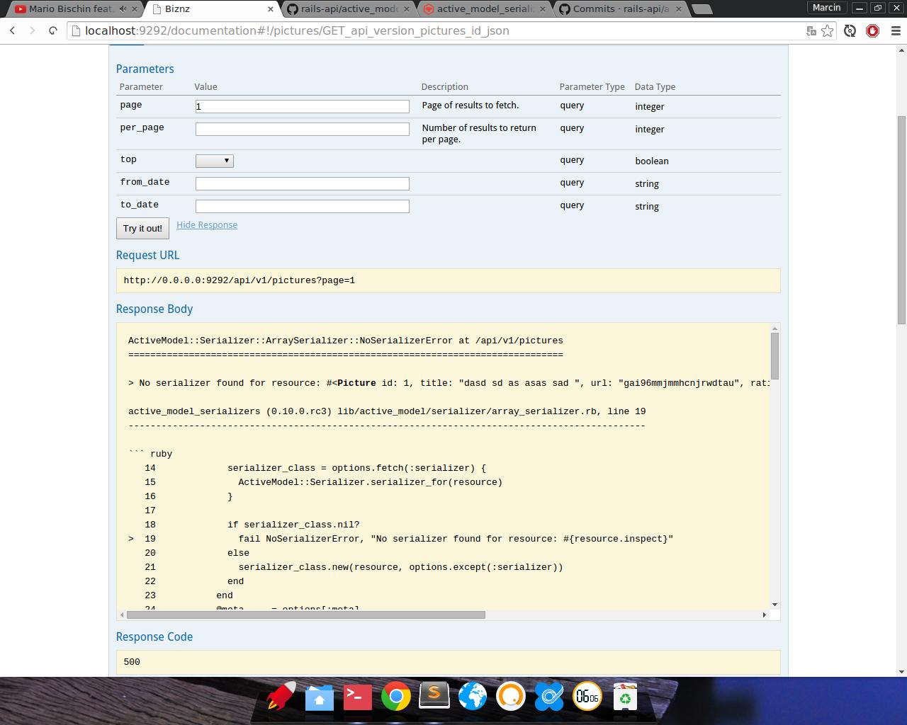 No serializer found for resource · Issue #1250 · rails-api