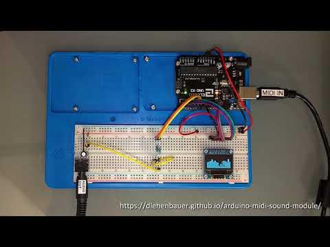 GitHub - DLehenbauer/arduino-midi-sound-module: Turn your