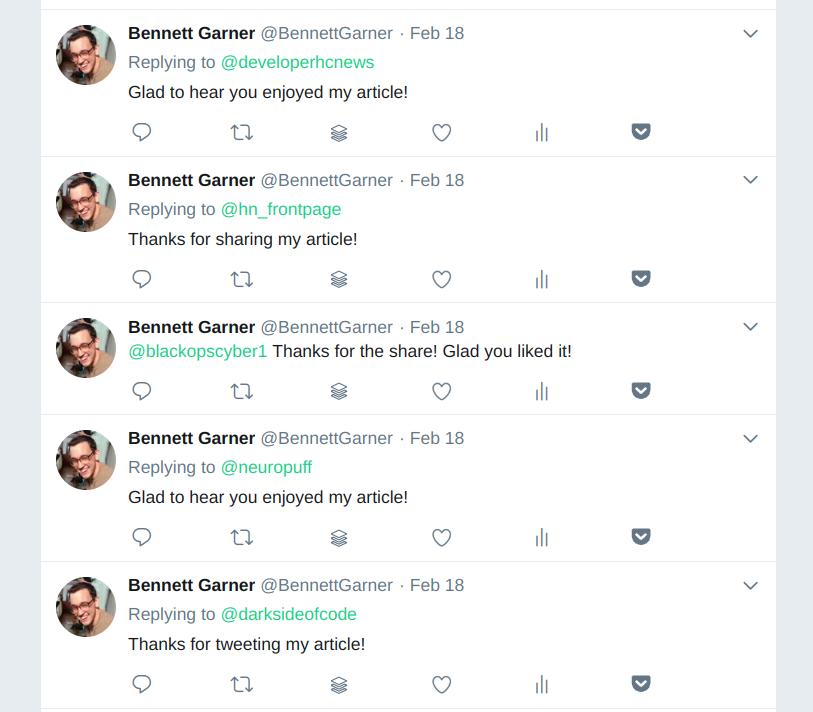 twitter bot screencast